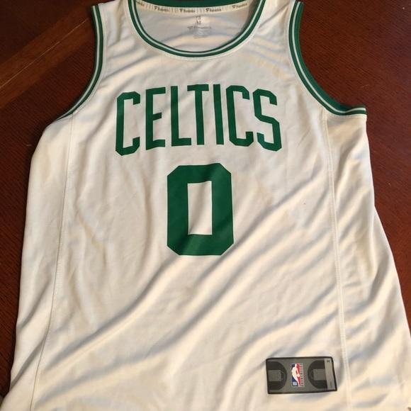 promo code f828e 15eaa Boston Celtics jersey. Jayson Tatum medium